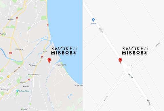 Smoke n Mirrors Map